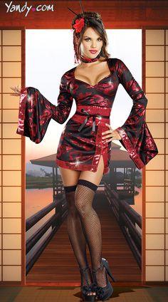 The Geisha With The Dragon Tattoo Costume - $51.95
