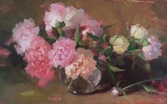 We present: Peonies 6 - Karol Turski. One of the many paintings by Karol Turski. We encourage you to get acquainted with the entire portfolio. Presents, Drawings, Floral, Painting, Drawing Flowers, Polish, Pastels, 21st, Artists