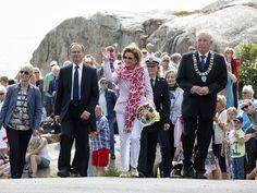 Foro Hispanico de Opiniones sobre la Realeza: La reina Sonja visita el Parque Nacional de Færder