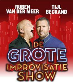Ruben van der Meer & Tijl Beckand - De Grote Improvisatieshow - Donderdag 14 mei 2015 te zien in Theater aan de Parade! http://www.theateraandeparade.nl/voorstelling/4651/tijl_beckand_ruben_van_der_meer/de_grote_improvisatieshow/