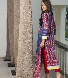 Anaya Embroidered Suits Collection  anaya_03A