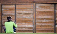 Le immagini dell'allenamento dei bianconeri in vista della partita di Champions contro l'Atletico di Simeone
