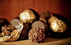 Ferrero Rocher has always been a part of our celebrations. Here are some of the facts about Ferrero Rocher you might not know about. Ferrero Rocher, Sweet Pastries, Melting Chocolate, Biscotti, Food Photo, Doughnut, Stuffed Mushrooms, Pudding, Ice Cream