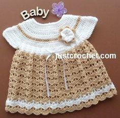vestido de la tapa patrón libre del ángel del bebé del ganchillo EE.UU.