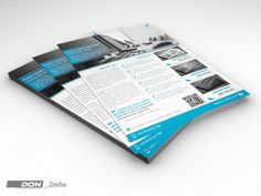 Corporate Flyer Template by don_2mba on Creative Market