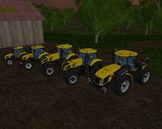 New Holland Yellow Set V 1.2 FS 2015 - Farming simulator 2015 / 15 LS mod