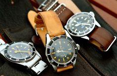 Vintage Rolex Submariners