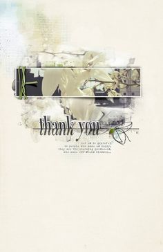 Thank You by beszteri | created using digital products of Anna Aspnes, Maya de Groot and Sahlin Studio