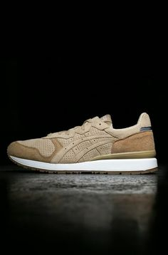 Onitsuka Tiger Alliance: Brown Suede