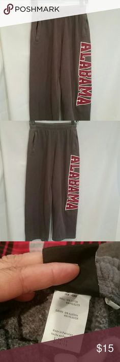 Alabama Sweats, drawstring waist,  sz JR. 14/16 In good condition,  inseam 30 Genuine Stuff Pants Jumpsuits & Rompers