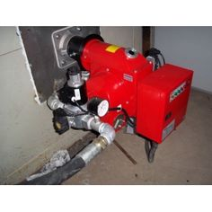 90-358KW gas fired burner with burner nozzle