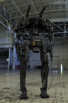 """BLACK PHOENIX"" PROJECT (10 DAYS OF MECH) Utility/Infantry bot - ""Praetorian P1"" by Vitaly Bulgarov - http://www.bulgarov.com"
