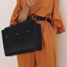 """1,089 """"Μου αρέσει!"""", 73 σχόλια - M A R G A R I T A (@ritamargari) στο Instagram: """"#details my new big l o v e #leatherbag @camelia_roma @karavanclothing #pants #top . . . . . . .…"""""""