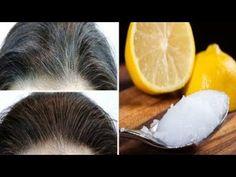 Sie reibt Kokosöl mit Zitronensaft in ihr Haar - am nächsten Tag erkennt sie sich nicht wieder! Best Coconut Oil, Coconut Oil Uses, Lemon Coconut, Belleza Diy, Coconut Shampoo, Coconut Oil Hair Growth, Coconut Hair, Covering Gray Hair, Hair Remedies For Growth