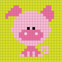 ideas for crochet animals disney cross stitch Pixel Crochet, C2c Crochet, Crochet Cross, Crochet Diagram, Tapestry Crochet, Graph Crochet, Cross Stitch Charts, Cross Stitch Designs, Cross Stitch Patterns