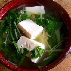 梅干を効かせたチキンと昆布のスープの湯豆腐‼︎ - 49件のもぐもぐ - 糖質制限ダイエットな朝ごはん‼︎ by giacometti1901