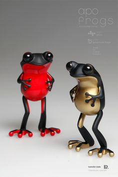 apo frogs : version good luck frogs by Hyunseung Rim, via Behance