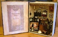 The Old Curiosity Shop in Miniature by Celia Thomas