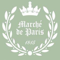 Marche de Paris postal.Etiqueta printable.