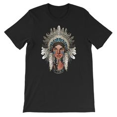 Tribal Pride Short-Sleeve Unisex T-Shirt Cool Tees, Fabric Weights, Cool Designs, Pride, Unisex, Sleeve, Mens Tops, T Shirt, Quality Printing