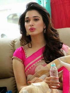 6 Times That Tamanna Wore Pink Saree And Made Us say WOW! #PinkSaree #CelebrityFashionSaree #Tamanna #FashionSaree