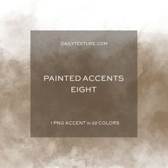 The Painted Accents Eight Overlay Collection features one {1} ground dust painted accent in 22 color tones from Jai's personal color palette.