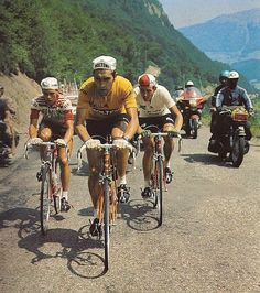 Tour de France, 1971. Merckx, Van Impe, and Zoetemelk take on the Pyrenees.
