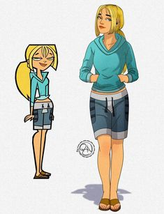 Cartoon Movie Characters, Cartoon Tv, Cartoon Shows, Cartoon Drawings, Female Characters, Drama Total, Total Drama Island, Old Cartoon Network, Character Art