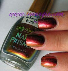 Sally Hansen Nail Prisms Amber Ruby
