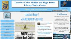 Lamoille Union Library website