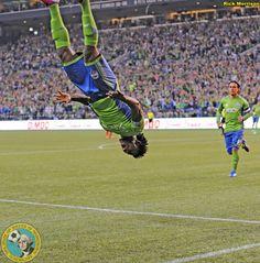 Obefemi Martins - Seattle Sounders vs Real Salt Lake