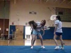 Cowboy stunt routine The discipline to make that stunt happen was amazing High School Cheer, School Cheerleading, Cheer Coaches, Cheer Stunts, Real Champions, Basketball Cheers, Girls Are Awesome, Cheer Practice, Cheer Bows
