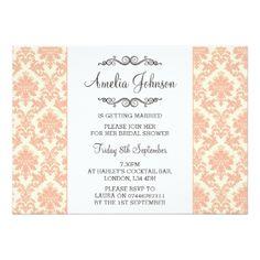 #bachelorette #party #invitations - #Darling Bridal Shower Invitation