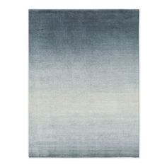 Loomed by hand in India, our Ombre Shine Rug blends durable wool with lustrous rayon for a striated look that's both modern and glamorous. With its subtle shimmer and ombre effect, it instantly dresses up living rooms, bedrooms and beyond. Modern Boho, Modern Rustic, Coconut Grove, Modern Area Rugs, Blue Ombre, Blue Lagoon, Contemporary Rugs, Blue Accents, Rustic Chic