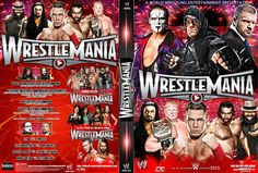 WWE WrestleMania 31 DVD Cover 2015 by Dinesh-Musiclover