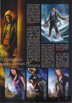 Percy Jackson Magazine scan!