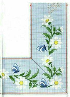 Cross Stitch Embroidery, Embroidery Patterns, Hand Embroidery, Cross Stitch Patterns, Cross Stitch Heart, Cross Stitch Flowers, Bargello, Needlepoint, Needlework