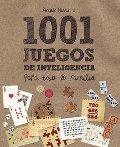 """1001 juegos de inteligencia para toda la familia (primeras paginas)  Mejorar el rendimiento cerebral no es tan solo posible, sino que también puede ser divertido. """"1001 juegos de inteligencia para toda la familia"""" contiene entretenidos ejercicios de memoria, crucigramas, problemas matemáticos, juegos de letras y acertijos que ayudarán a potenciar las capacidades del cerebro tanto de los mayores de la familia como de los más pequeños."""