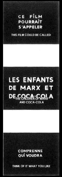 1966 - Masculine-feminine, 15 faits précis Jean-Luc Godard