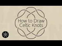 How To Draw A Freestyle Celtic Knot - YouTube