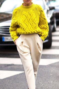 Stylish Bright Sweaters for Every Budget — Street Style Outfit Inspiration