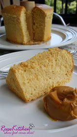 ReeseKitchen: Peanut Butter Chiffon Cake