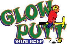 Glow Putt mini golf in Gahanna