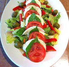 Caprese Salad by cookingtheamazing #Caprese_Salad #Basil #cookingtheamazing