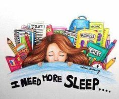 Sleep...