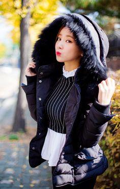 Classic Parka #koreanfashion Fall Fashion 2014