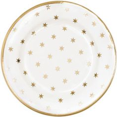 GreenGate Small Plate Nova Gold 15 cm