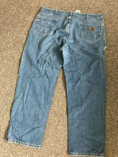 25af8c5f842 MENS CARHARTT WIP RELAXED STRAIGHT JEANS PANTS BLUE W44 L32 WORKWEAR  #fashion #clothing #shoes #accessories #mensclothing #jeans (ebay link)