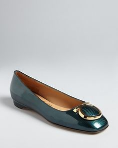 Salvatore Ferragamo Flats - Taissa   so shiny