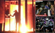 Ferguson descends into a NINTH night of violence